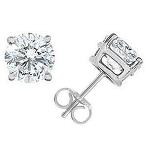 Diamond Stud Earrings Melbourne Platinum And Gold Studs Goldenet Australia